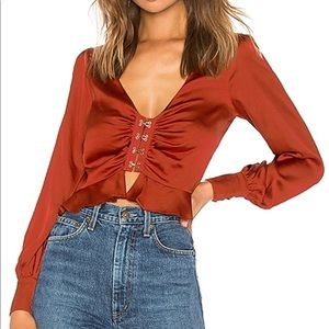 Tops - Brand new with tags Isabella long sleeve top